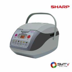 SHARP หม้อหุงข้าว คอมพิวเตอร์ไรซ์ 1 ลิตร รุ่น KS COM10 G
