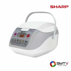 SHARP หม้อหุงข้าว คอมพิวเตอร์ไรซ์ 1 ลิตร รุ่น KS-COM10 ( KS-COM10 ) รหัสสินค้า : kscom10