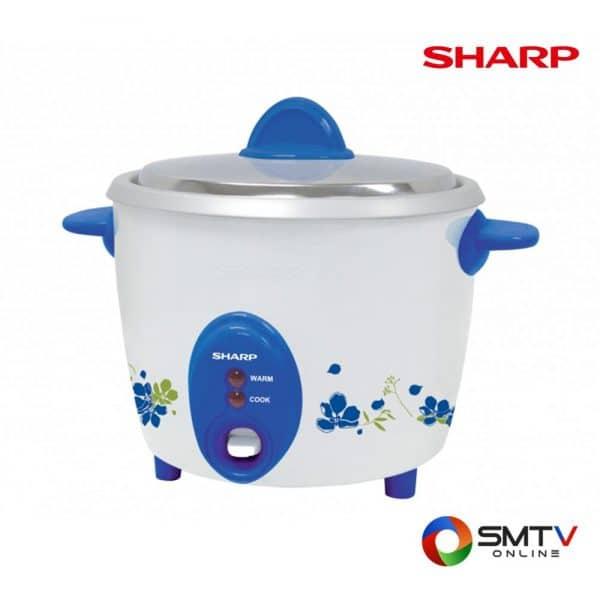 SHARP หม้อหุงข้าว 0.6 ลิตร รุ่น KSH D06 BL