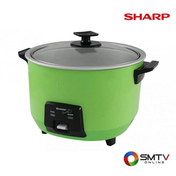 SHARP หม้อหุงข้าว 1.8 ลิตร รุ่น KSH CANDY18 GA
