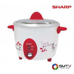 SHARP หม้อหุงข้าว 1.8 ลิตร รุ่น KSH-D18 -คละสี ( KSH-D18 ) รหัสสินค้า : kshd18