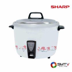 SHARP หม้อหุงข้าว 3.8 ลิตร รุ่น KSH D40 ลาย GY