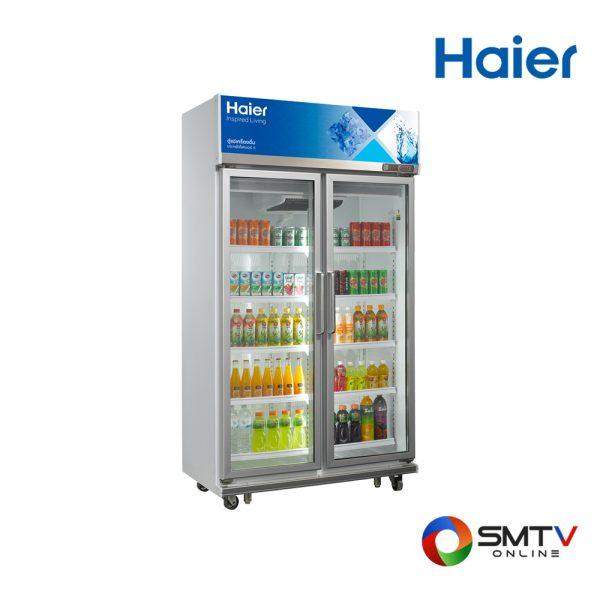 HAIER ตู้แช่เครื่องดื่ม 2 ประตู 25.9 คิว รุ่น SC 1400PCS2