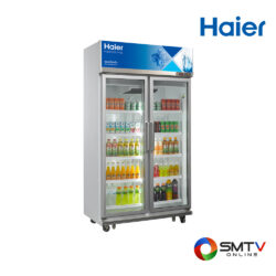 HAIER ตู้แช่เครื่องดื่ม (2 ประตู) 25.9 คิว รุ่น SC-1400PCS2-LEDV2 ( SC-1400PCS2-LEDV2 ) รหัสสินค้า : sc1400pcs2ledv2
