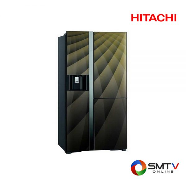 HITACHI ตู้เย็น SIDE BY SIDE 21.1 คิว รุ่น RM 600AGP4THX