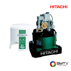 HITACHI ปั้มน้ำแบบอัตโนมัติ 100 วัตต์ รุ่น WT-P100GX2 ( WT-P100GX2 ) รหัสสินค้า : wtp100gx2