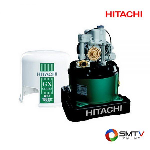 HITACHI ปั้มน้ำแบบอัตโนมัติ 100 วัตต์ รุ่น WT P100GX2