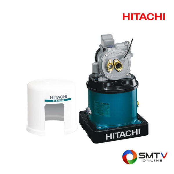 HITACHI ปั้มน้ำแบบอัตโนมัติ 300 วัตต์ รุ่น DT P300GXPJ