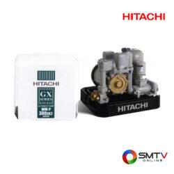 HITACHI ปั้มน้ำแบบอัตโนมัติ 300 วัตต์ รุ่น WM-P300GX2 ( WM-P300GX2 ) รหัสสินค้า : wmp300gx2