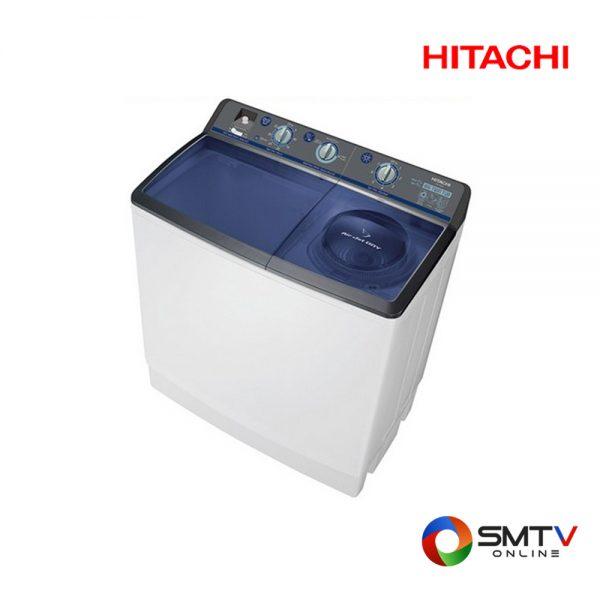 HITACHI เครื่องซักผ้า สองถัง 17 กก. รุ่น PS 170WJ