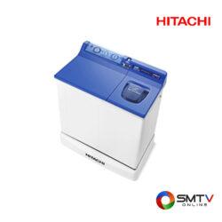 HITACHI เครื่องซักผ้า สองถัง 8.5 กก. รุ่น PS 85LSJ DBL