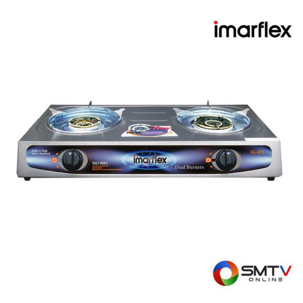 IMARFLEX-เตาแก๊สหัวคู่-รุ่น-IG-423