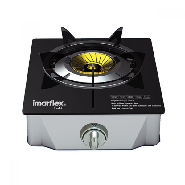 IMARFLEX-เตาแก๊สหัวเดี่ยว-รุ่น-IG-431