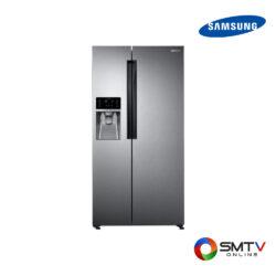 SAMSUNG ตู้เย็น Side BY Side 21.8 คิว รุ่น RS58K6407SL ( RS58K6407SL ) รหัสสินค้า : rs58k6407sl