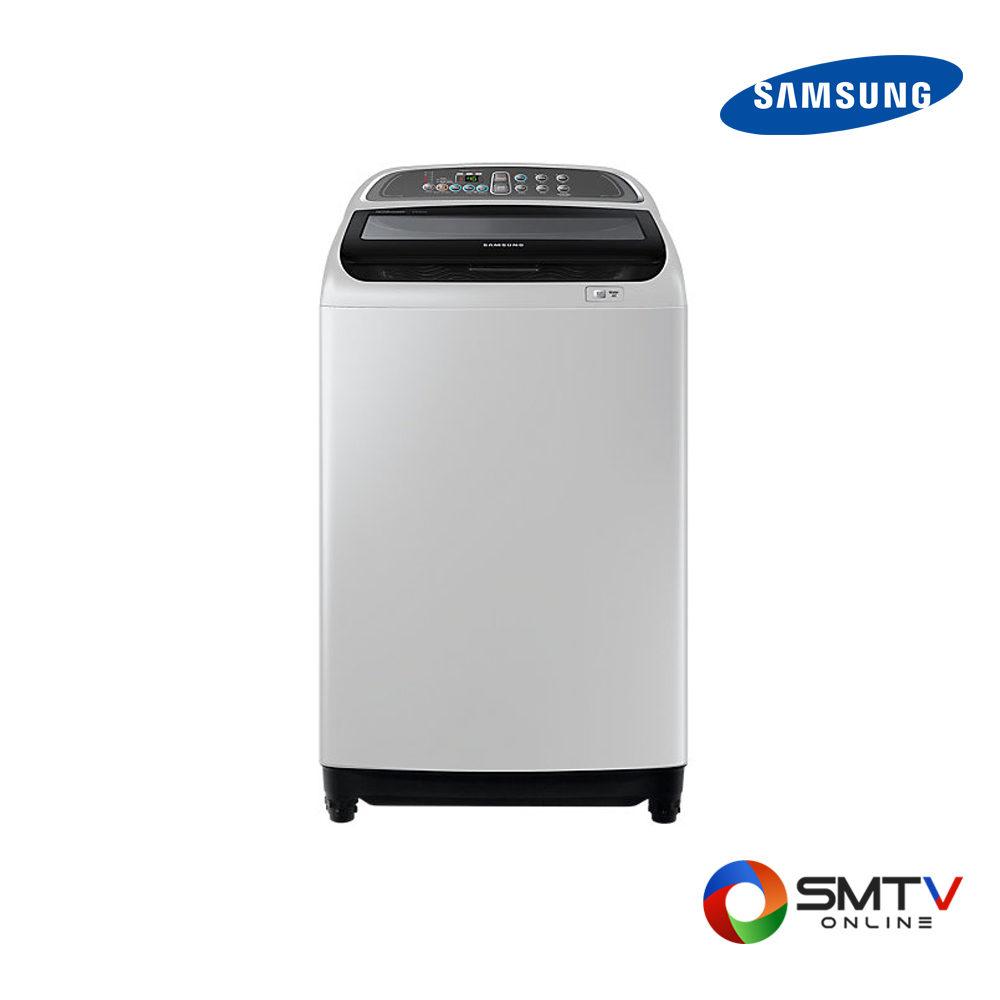 SAMSUNG เครื่องซักผ้าฝาบน รุ่น WA10J5713SG ( WA10J5713SG ) รหัสสินค้า : wa10j5713sg