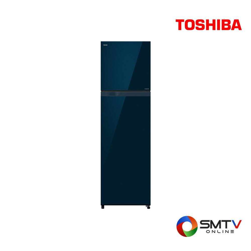 TOSHIBA ตู้เย็น 2 ประตู 12.8 คิว รุ่น GR-AG41KDZ ( GR-AG41KDZ ) รหัสสินค้า : grag41kdzzw