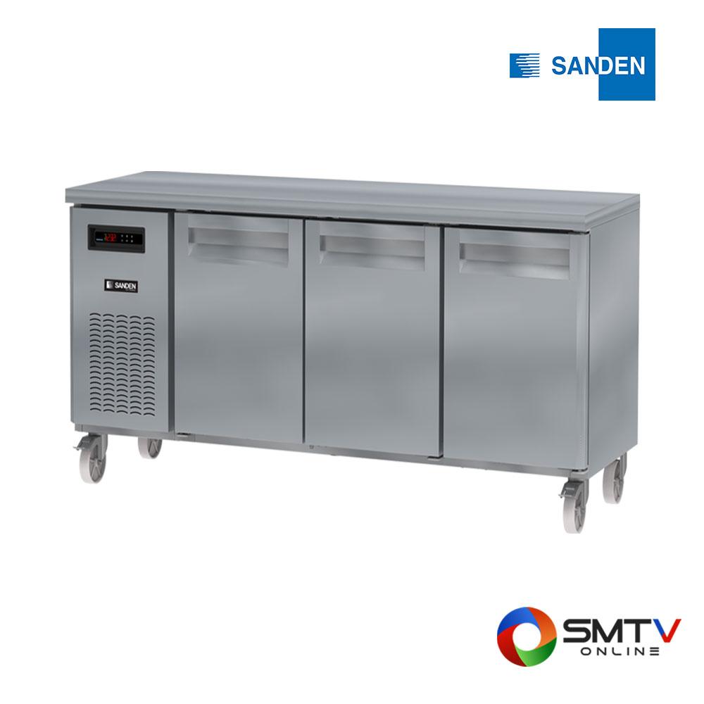 SANDEN ตู้แช่เคาน์เตอร์ 420 ลิตร รุ่น SCR3-1806-AR