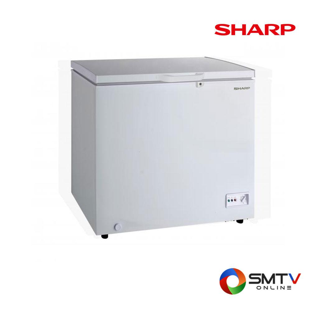 SHARP ตู้แช่แข็งฝาทึบแนวนอน 6.7 คิว รุ่น SJ-CX200T-W