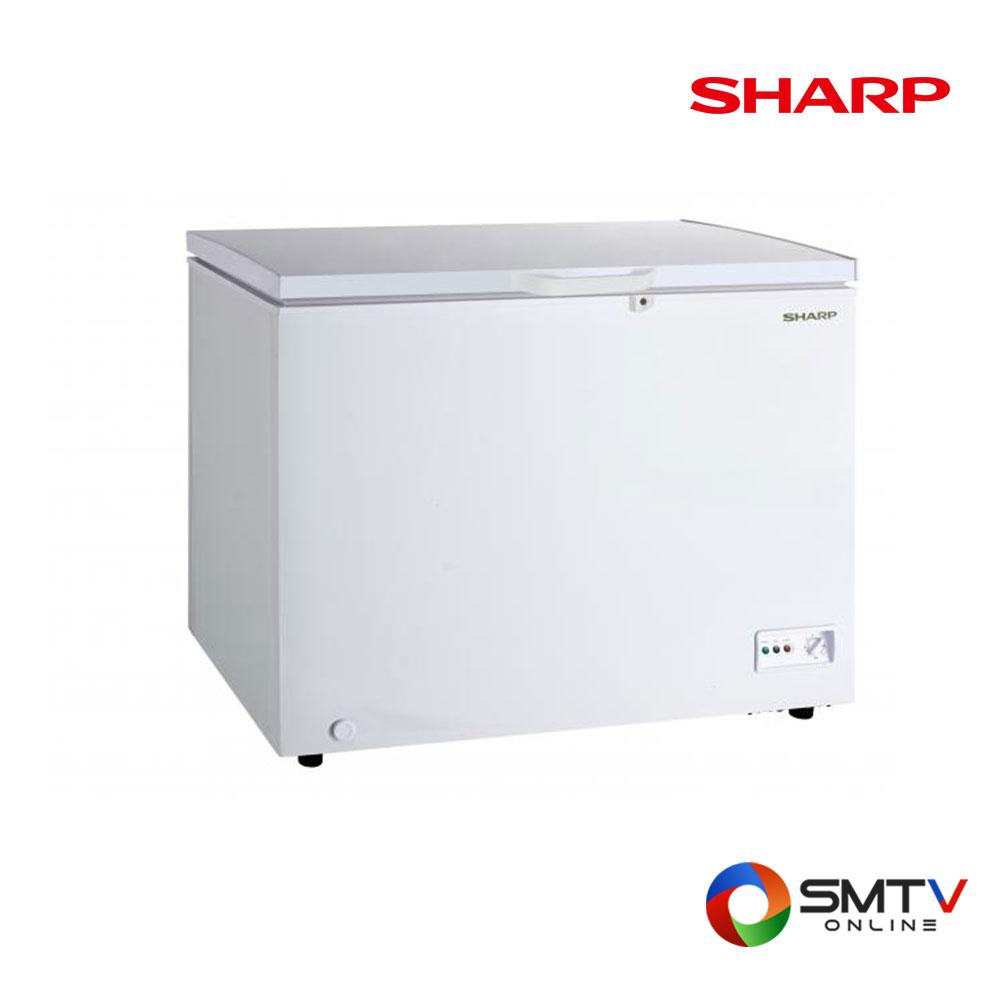 SHARP ตู้แช่แข็งฝาทึบแนวนอน 10 คิว รุ่น SJ-CX300T-W