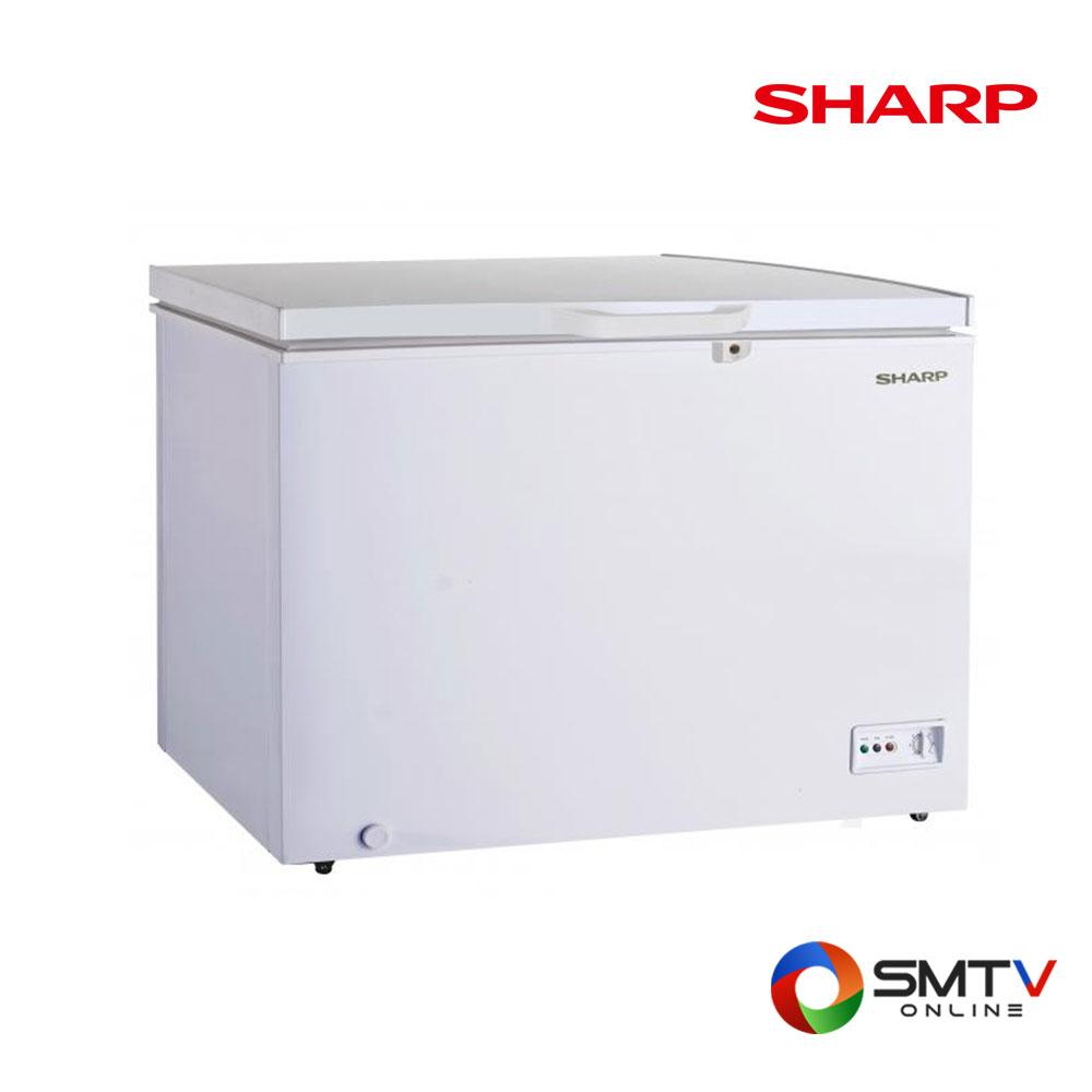 SHARP ตู้แช่แข็งฝาทึบแนวนอน 15.4 คิว รุ่น SJ-CX450T-W