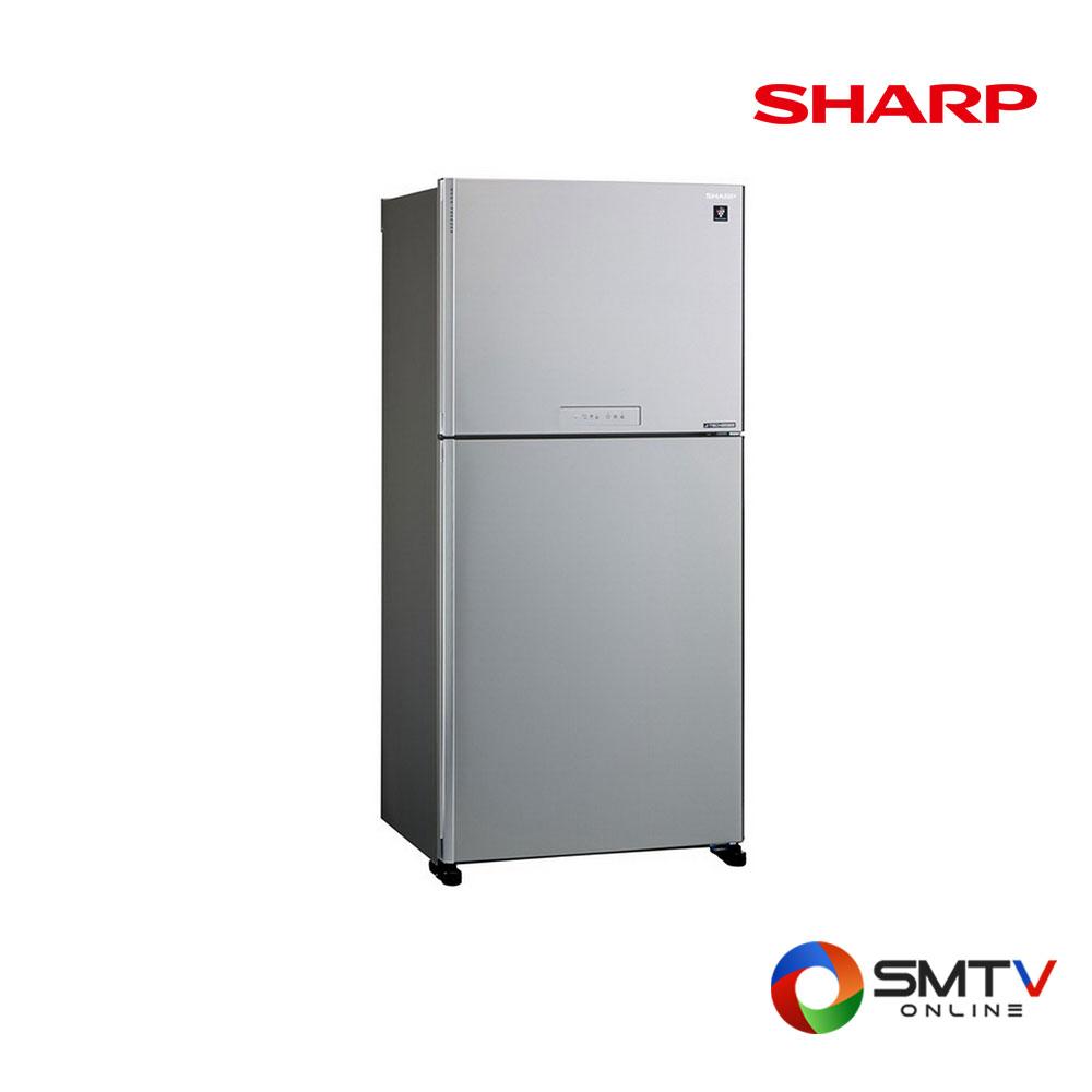 SHARP ตู้เย็น 2 ประตู 18 คิว รุ่น SJ-X510TP-SL