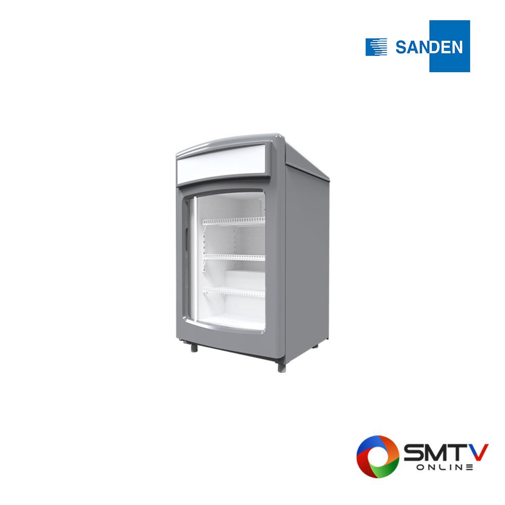 SANDEN ตู้แช่แข็งฝากระจกแนวตั้งรุ่น SNR-0085