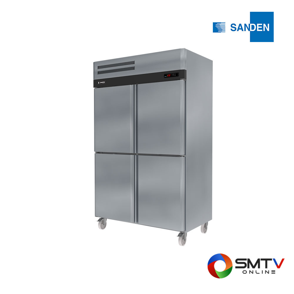 SANDEN ตู้แช่สแตนเลส 1310 ลิตร รุ่น SRF3-1327-AS