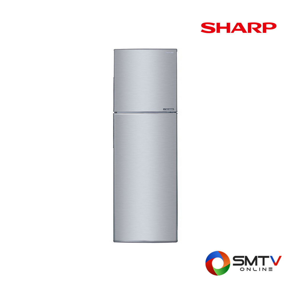 SHARP ตู้เย็น 2 ประตู8.9 คิว รุ่น SJ-X260TC-SL