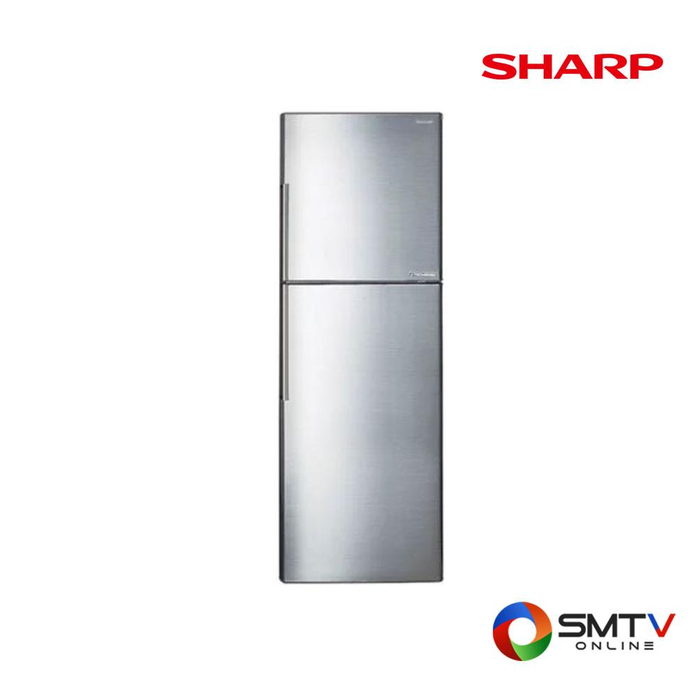 SHARP ตู้เย็น 2 ประตู10.6 คิว รุ่น SJ-X300TC-SL