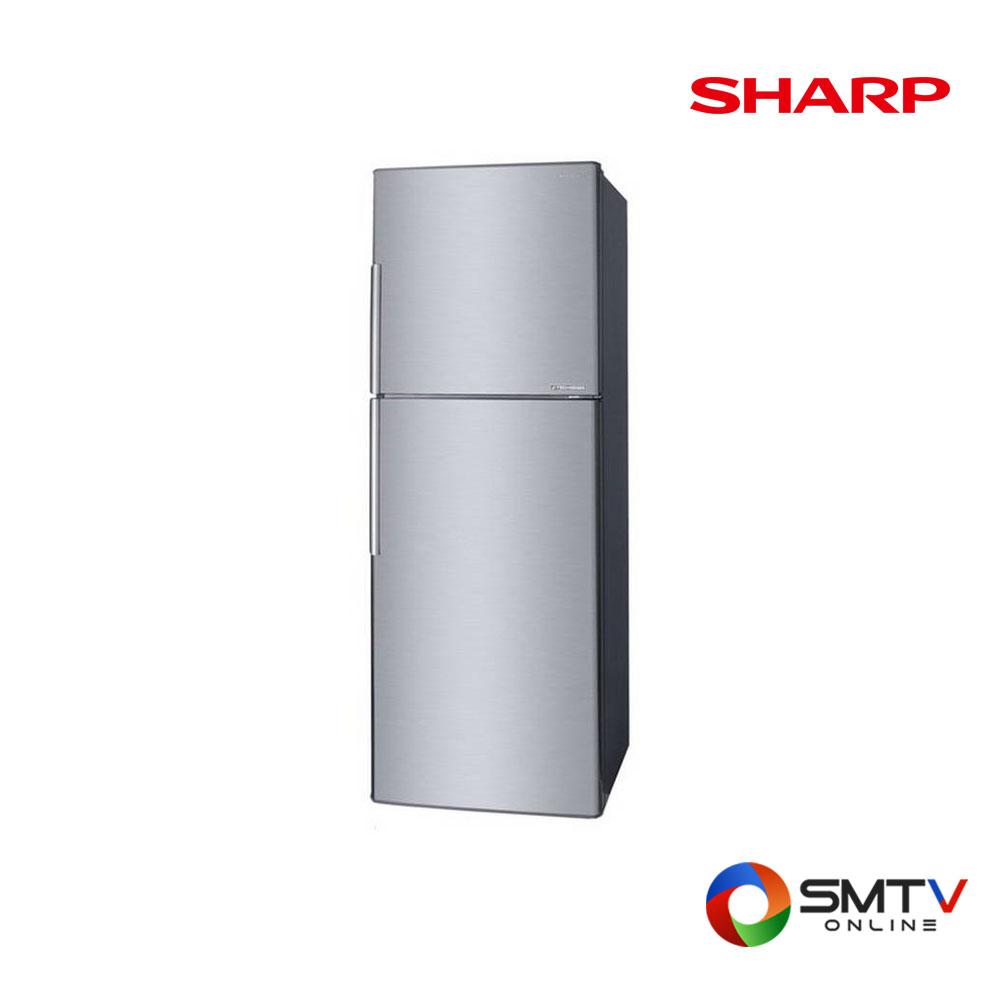 SHARP 2 ประตู 11.6 คิว Inverter ตู้เย็น 2 ประตู11.6 คิว รุ่น SJ-X330TC-SL