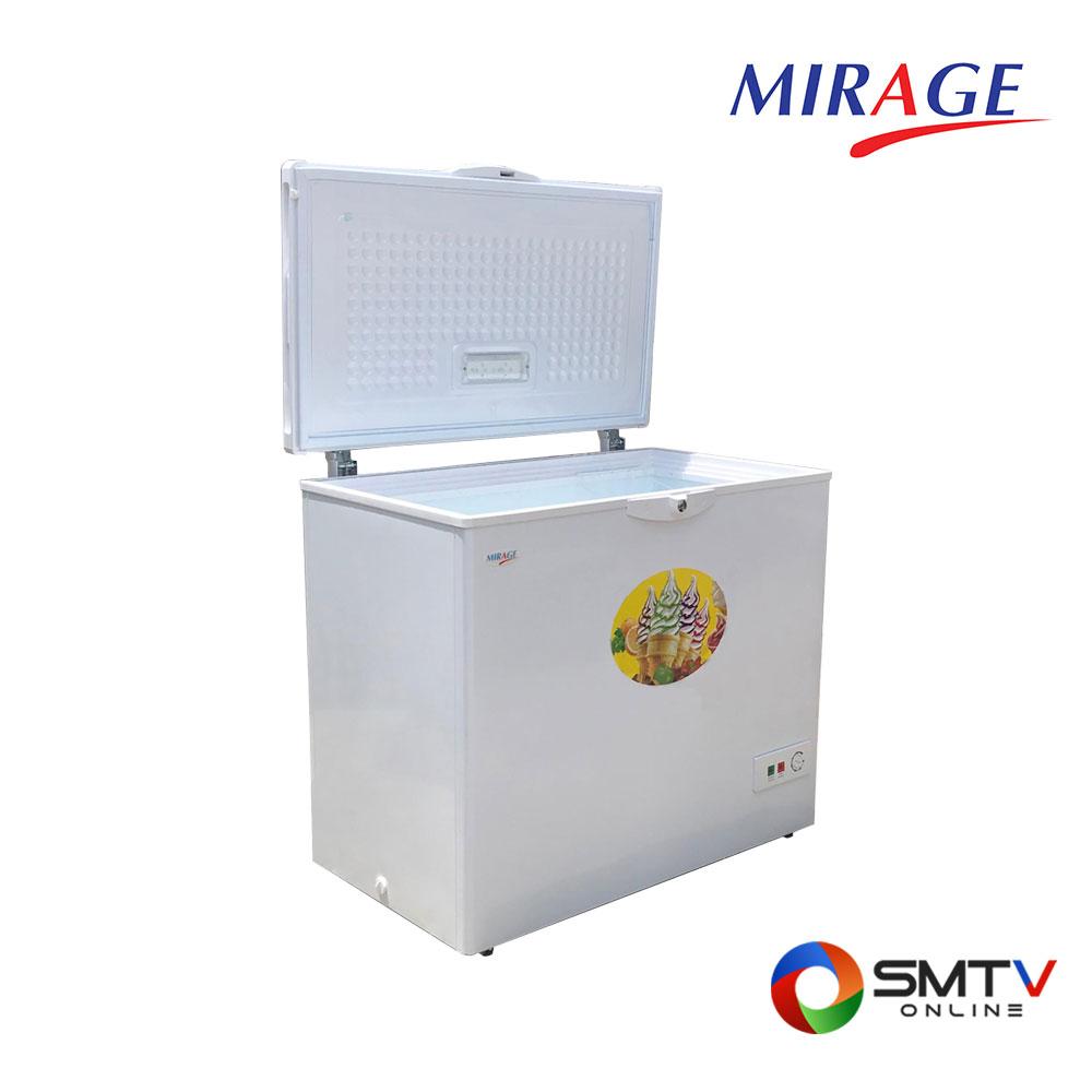 MIRAGE ตู้แช่แข็งฝาทึบแนวนอน 5.6 คิว รุ่น EC160